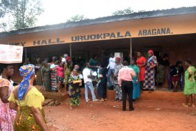 Public Outreach at Town Hall, Uruokpala Abagana