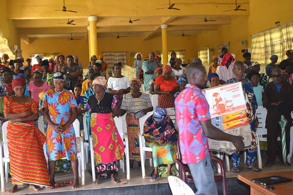 Public Outreach at Agulu People Union Hall